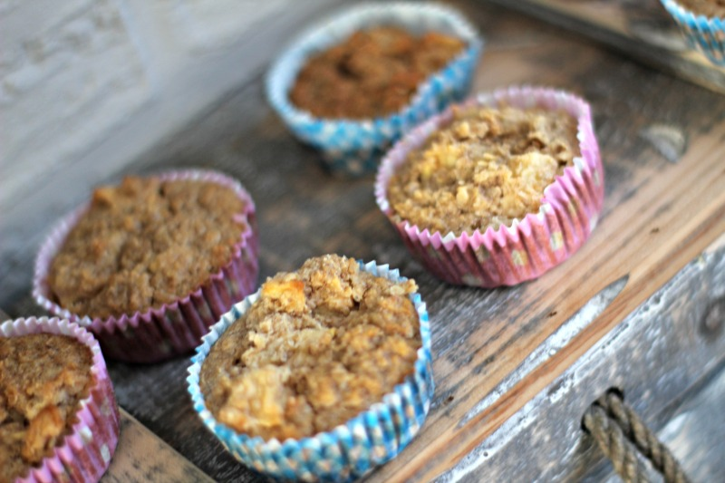 Havermout muffins met Appel | Weight Watchers proof