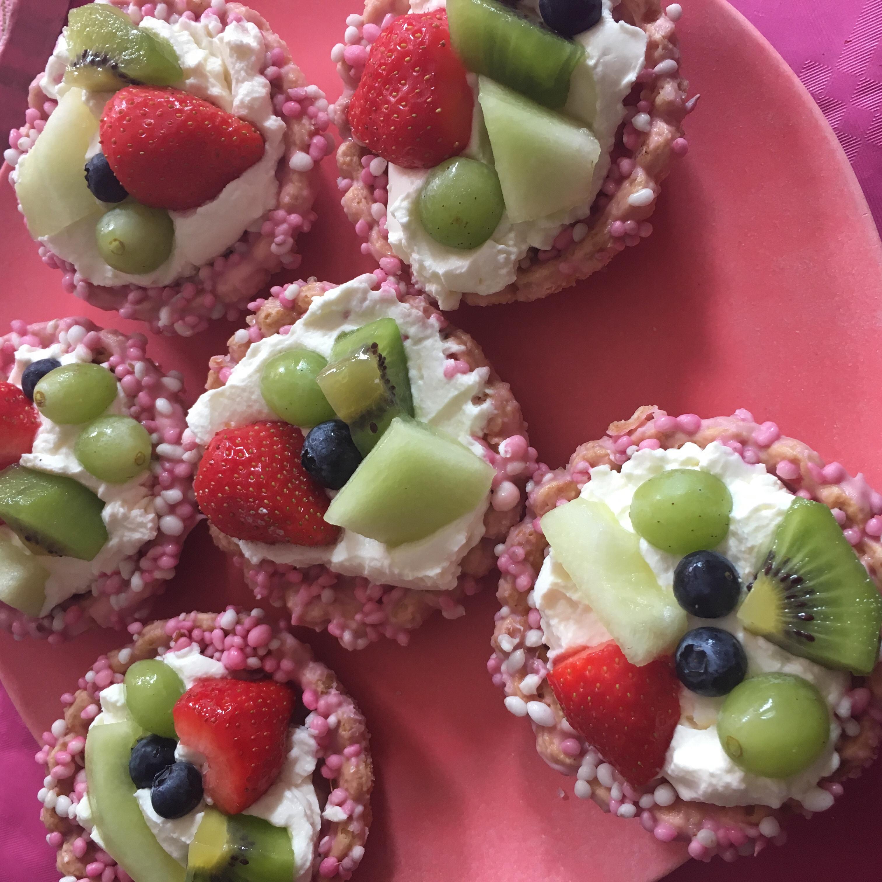 Snelle en makkelijke fruit gebakjes