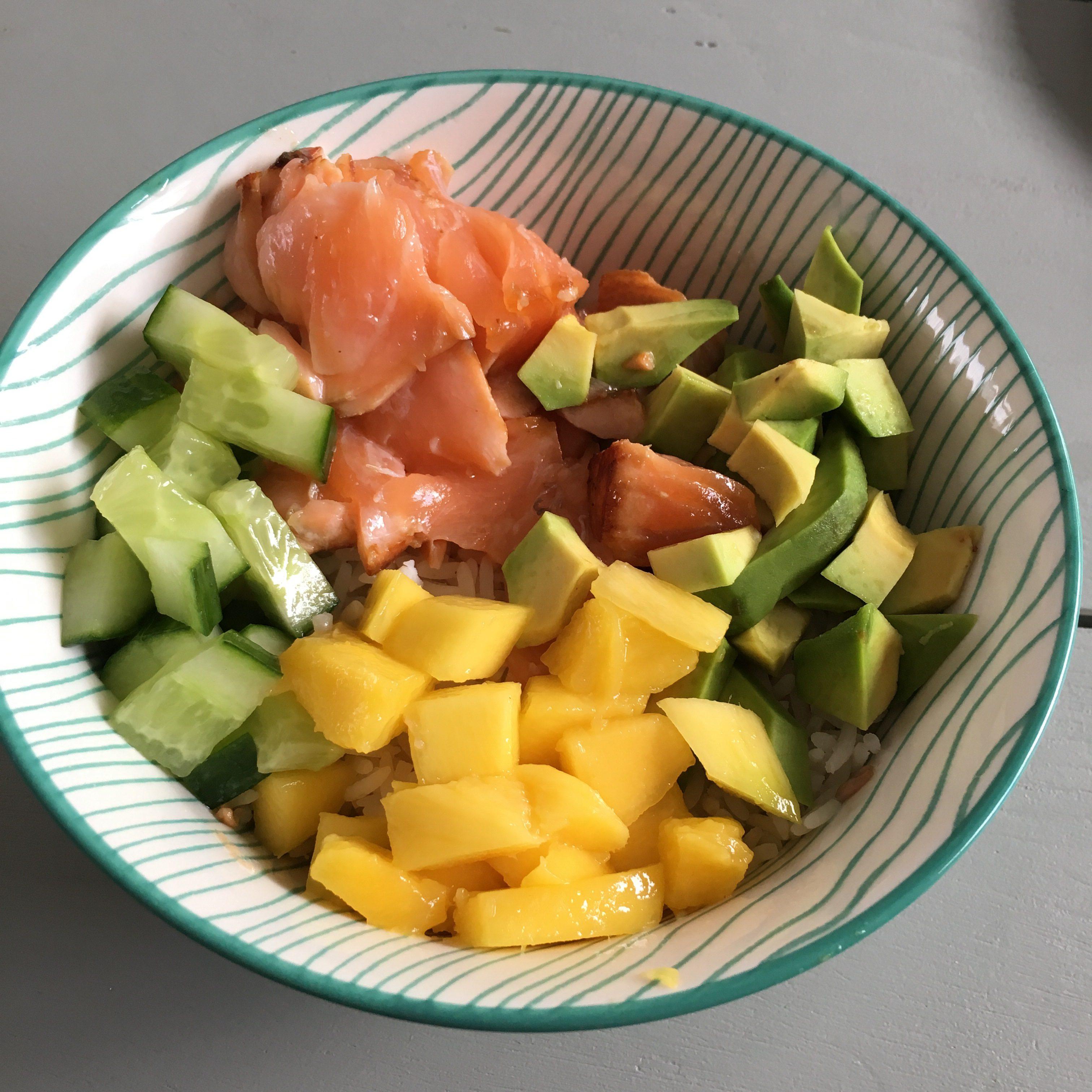 Pokebowl met mango