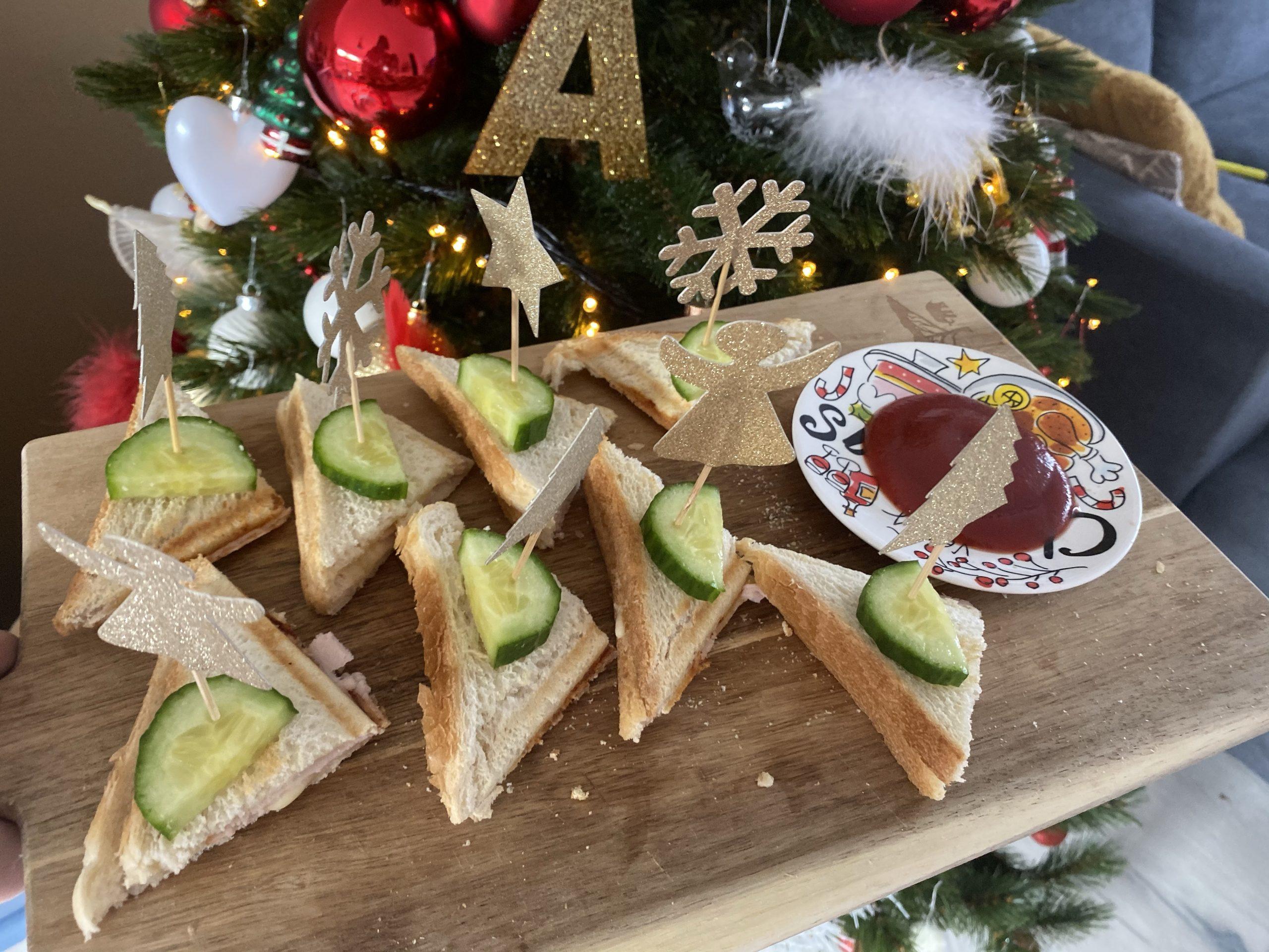 Tosti hapjes || Kerst diner op school
