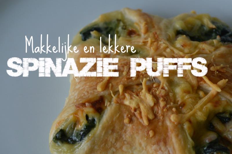 Spinazie puffs
