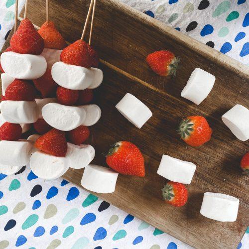 aardbeien marshmallow spies