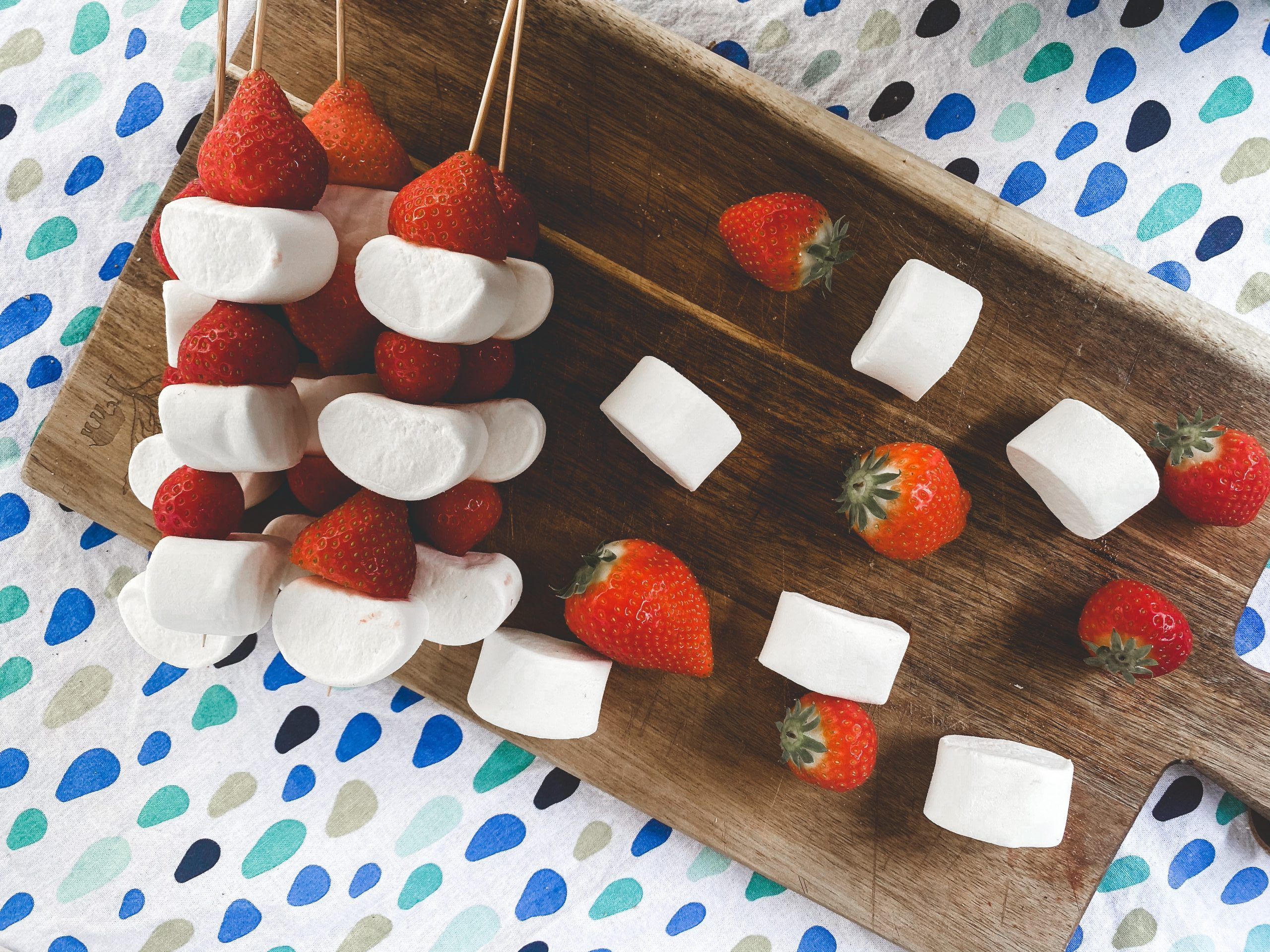 Marshmallow BBQ spies