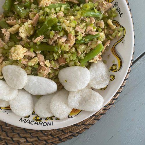 broccolirijst met sojazalm
