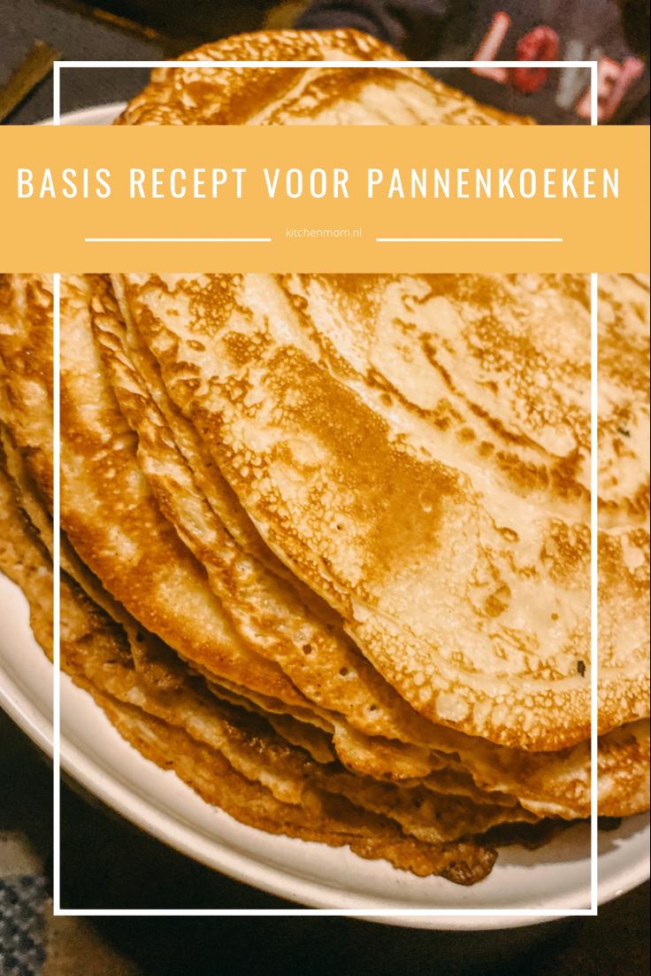 basis recept pannenkoeken