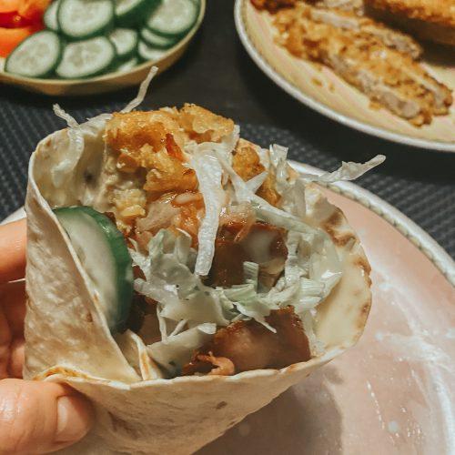 wraps met krokante kip